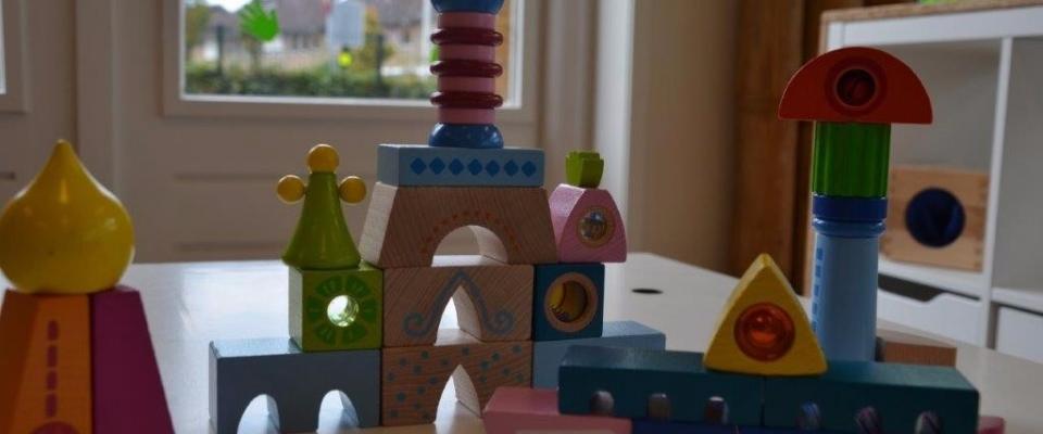 Bouwhoek speelmateriaal