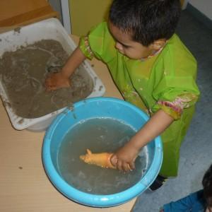 Een modderbad