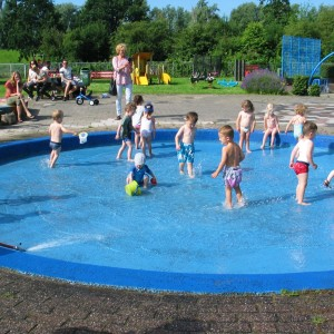Zwembad speeltuin