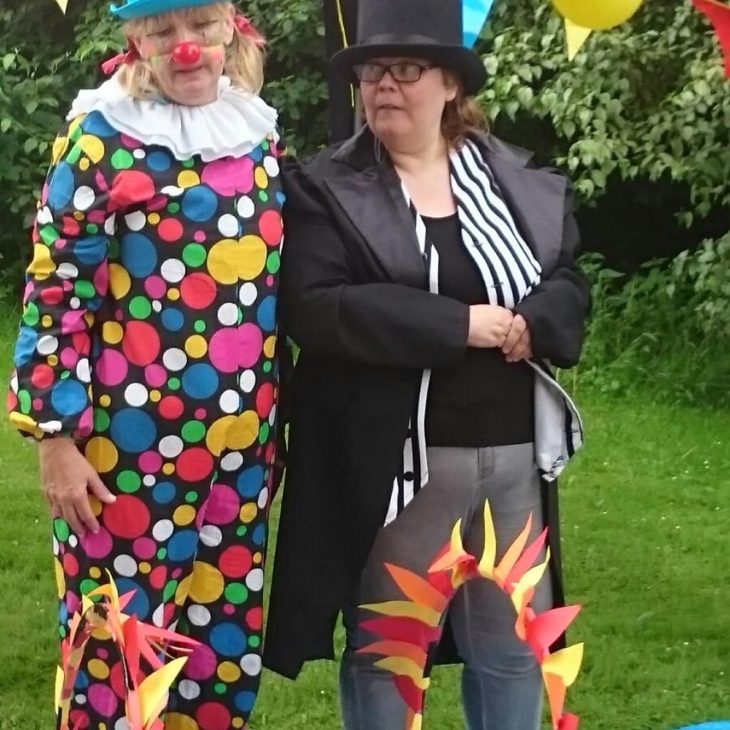Clown en dir